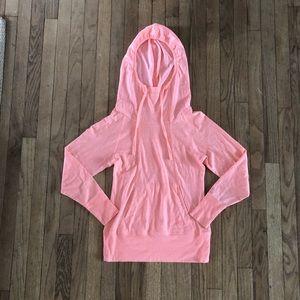 North Face hooded sweatshirt